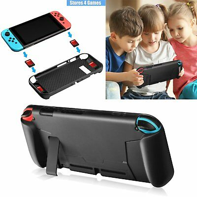 For Nintendo Switch NS Console Joy-Con Protective Skin Shell Silicone Case Cover