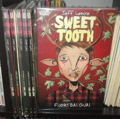 SWEET TOOTH 1/6 collezione COMPLETA 1° Ed Lion IMBU scalped 100 bullets preacher