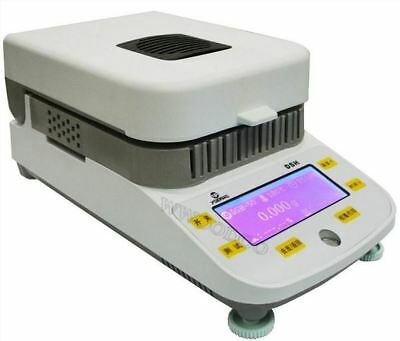 50G Capacity 10Mg Readability Lab Moisture Analyzer With Halogen Heating 220V aa