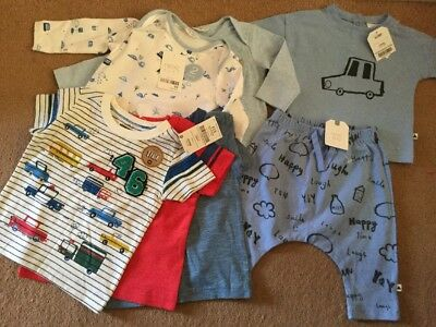 Next Baby Boy Brand New With Tags Clothes Bundle 3-6 Months