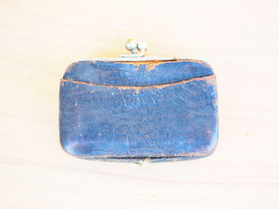Vintage Old Small Size Ladies Purse, Coin Purse (H447)
