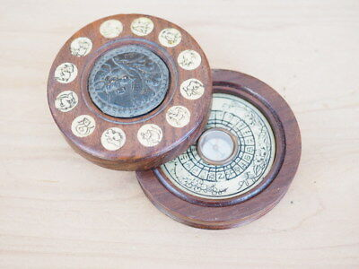 Vintage Old Fold Up Compass Nautical Compass (J28)