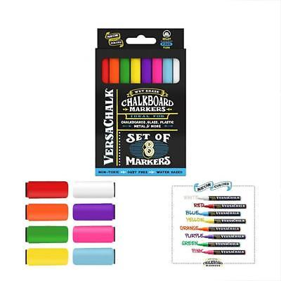 Erasable Markers Liquid Chalk By VersaChalk Non Toxic Wet Erase Chalkboard Glass