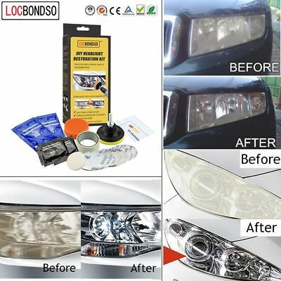 Bright Auto Lens Repair Remove Aging Headlight Restoration Car