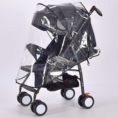 Clear Baby Pushchair Pram Stroller Buggy Wind Shield Raincover Rain Cover AU