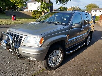 2002 (51) Jeep Grand Cherokee 2.7 Limited  Crd 5Dr Automatic