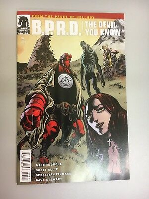 Dark Horse Comics:  B.P.R.D. The Devil You Know #6 (2018) BN Bagged and Boarded