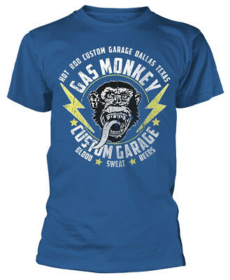 Gas Monkey Garage 'Lightning Bolts' T-Shirt - NEW & OFFICIAL!