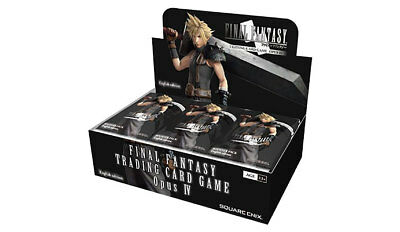 Final Fantasy Trading Card Game Opus IV (4) SEALED Booster Box (36 Packs) NEW FF