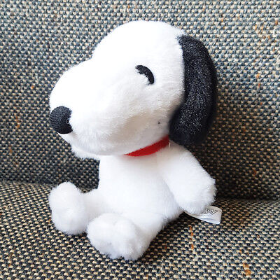 SNOOPY PEANUTS SMALL PLUSH DOLL STUFFED TOY ACCESSORY for Display only H16cm