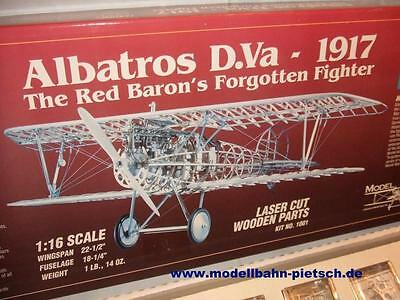 Model Airways Nr. 1001 -- Albatros D.Va 1917 -- 1/16 Scale, NEU in OVP