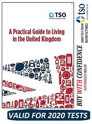 NEW 2020 Official Life in the United Kingdom UK book Citizenship Test Book LprcT