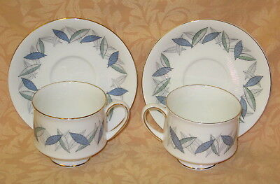 2 x UNUSED Royal Standard Trend English Bone China Cups & Saucers more available