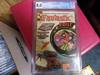 Fantastic Four #38 (CGC 8.0 OW pages) 1965 Marvel Stan Lee / Jack Kirby