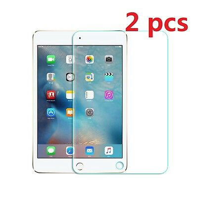2 Pack Tempered GLASS Screen Protector Film For iPad 2 3 4 Pro 9.7 Mini Air CQ