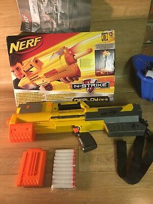 Nerf N-strike Deploy CS-6 Boxed And Complete
