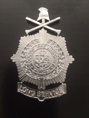 Cfa Country Fire Authority Long Service  Badge New