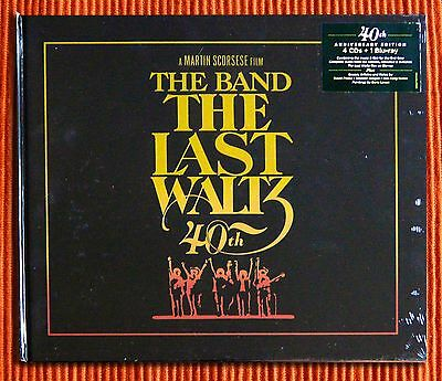 THE BAND - LAST, VALZER: 40th Anniversary) Deluxe Edition 4CD + Blu-Ray Box Set