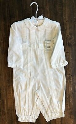 Besos by Kissy Kissy Boys Alexander L/S Christening Suit 12-18 Mo. NWT