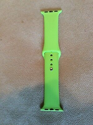 New LIME GREEN 38MM BAND FOR APPLE WATCH