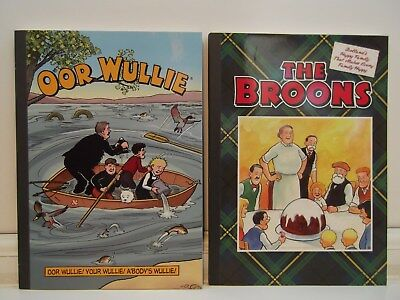 Oor Willie & The Broons (2016) Annuals * Excellent Condition * Unwanted Gift.
