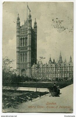 CPA-Carte postale Royaume-Uni - London - Victoria Tower - 1909