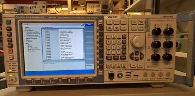 Rohde and Schwarz CMW 500 Wideband Radio Communication Tester