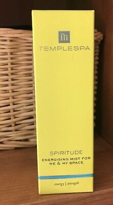 """TempleSpa """"Spiritude"""" Energizing Mist For Me & My Space # 100 Ml"""