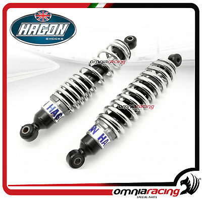 Pair 2 Shocks Absorbers Hagon BULTACO PURSANG 250/360 MK7/ MK8. 250 1974 > 1975