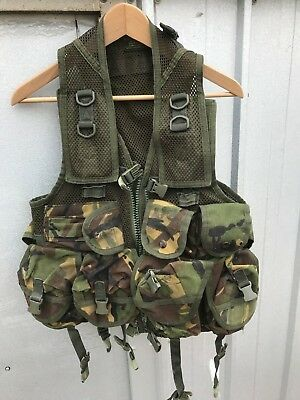 Arktis Dpm Webbing Chest Rig Airsoft Uksf Paintball Army Surplus Plce