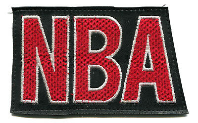 "2003 National Basketball Association 4.25"" Nba Block Letters Logo Patch"