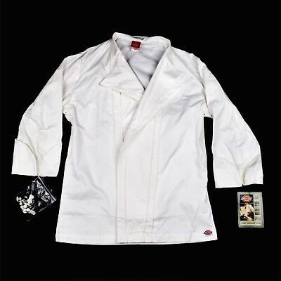 Dickies Chef Coat With Buttons Size 38