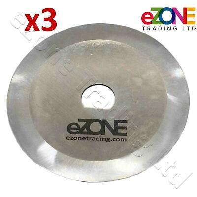 3x Donner Kabab Knife Blade Slicer 65mm For EASYCUT RITEPRICE DOMEX ENIGMEX