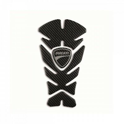 Genuine Ducati Supersport Carbon Tank Protector 97480151A