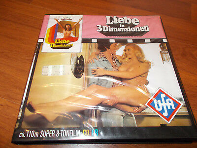 Super 8 Film Liebe in 3D Rolle 1  120m/color/Ton - Guter Zustand