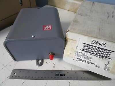 Paragon 8245-00 Defrost Control, 2HP, 40A, SPDT Switch, 120V Timing Motor