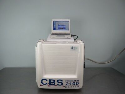 CBS 2100 Series Controlled Rate -200C Freezer with Warranty SEE VIDEO
