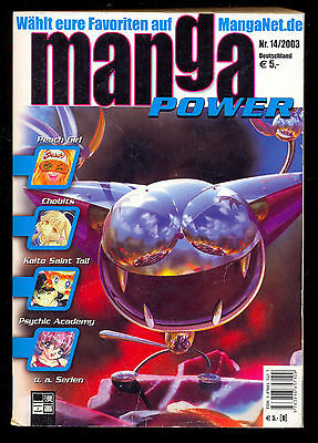 MANGA POWER - Buch-Nr. 14 - 2003