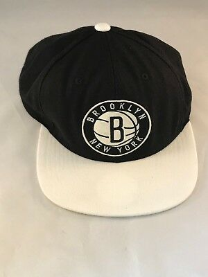 finest selection deed1 b5c97 Mitchell   Ness New York Brooklyn Nets NBA Baseball Cap Hat One Size  Snapback