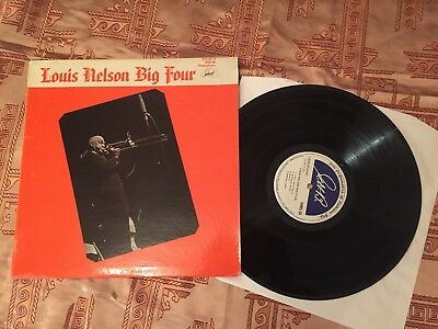 LP Louis Nelson BIG FOUR Vol II (with George Lewis) Stereo GHB-26 M-
