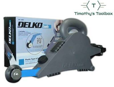 Delko Drywall Banjo Taping Tool & Internal Applicator Package