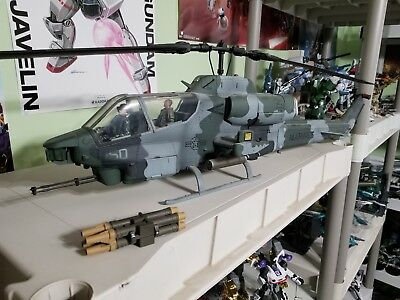 Ultimate Soldier Xd Ah 1w Cobra Attack Helicopter 1 18 21st Century Toys Marines