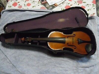 Antique Violin Salvadore de Durro Made In Germany B&J New York Sole Importers