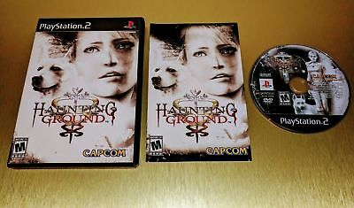 Haunting Ground ☆☆ Complete, Authentic, Top Rarity ☆☆ - PS2 Playstation 2 [S]