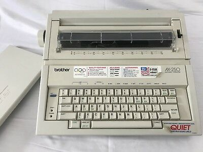 Brother AX-250 Electric Typewriter