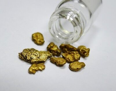 Large High Purity Natural Alaskan Placer Gold Nuggets! 3.30 grams!  See Photo