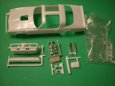 1978 Pontiac Firebird Trans Am 1/24 hood body shell glass bumper Model Car Part