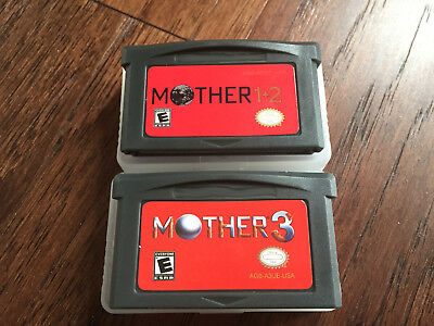 Mother 1+2 & Mother 3 - Earthbound - GBA - BEST QUALITY, ENGLISH, 1 2 3 and zero