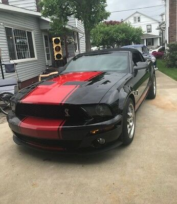 2009 Ford Mustang Shelby GT-500 2009 Shelby GT-500 convertible