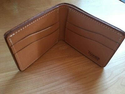 Brand New Tanner Goods Utility Bifold wallet natural leather